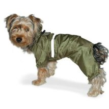 Green 4 legs raincoat
