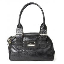 Leather Bag London Chic - Black
