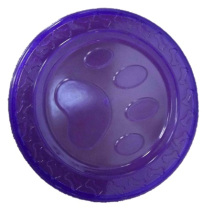 Frisbee Purple TPR-rubber Purple