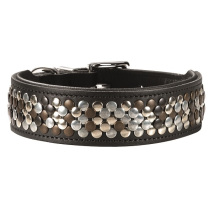 Collar Arizona Black Softleather