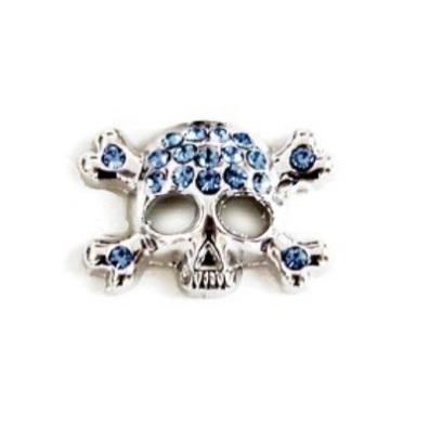 Charm Skull - Blue