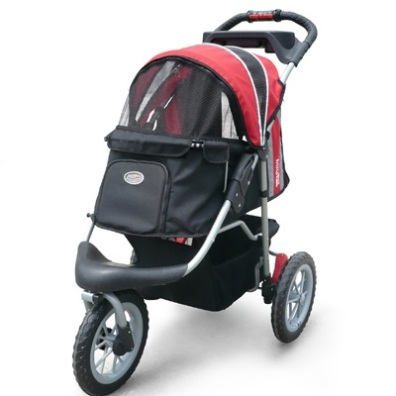 Buggy Max weight: 25KG - Black/Red