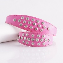 Nina Crystal Collar - Pink