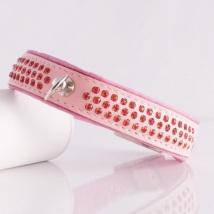 Sara Crystal Collar - Pink