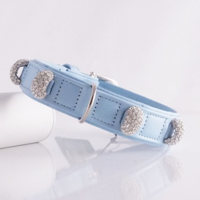 Collar Chrystal Bridge - Light Blue