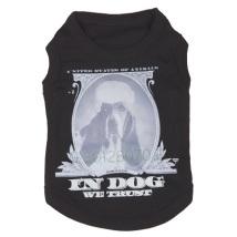 T-Shirt Dog print - Black