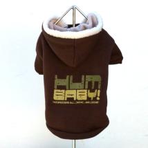 Brown hoodie