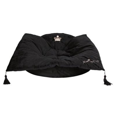 Black soft bed