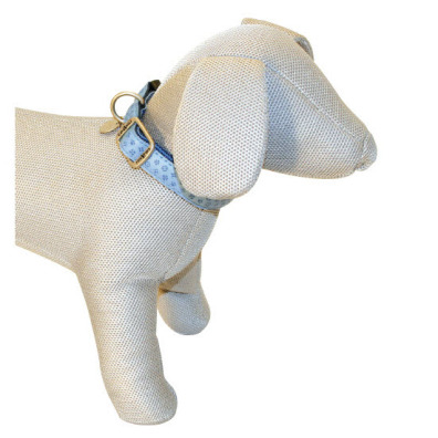 SOFT COLLAR IN LIGHT BLUE - ADJUSTABLE