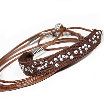 Show Leash Chocolate