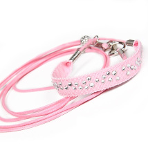 Show Leash Pink
