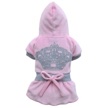 Dress silver crown pink