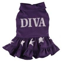 PUG - DIVA Purple Dress