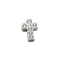 Charm Cross - White