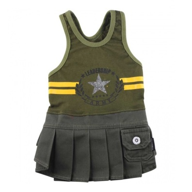 PUG - Army girly dress