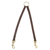 2 Way Leather Leash - Brown