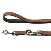 Leash Canadian Elk Cognac/Black