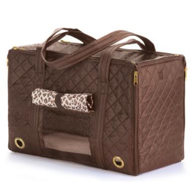 Multi Fashion Carrier Bag - Brown