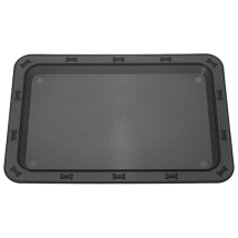 Tray/Mat Bone - Black   (no logo on the tray)