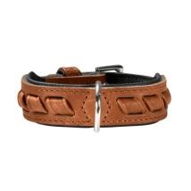 Western Leather Collar-Cognac