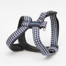 Leather Harness dogtooth