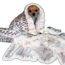 Cuddle Blanket Ice Leopard