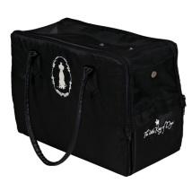 Black bag with soft fleece inside