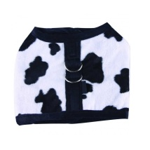 Black cow harness