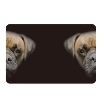 Place Mat - Black Dog