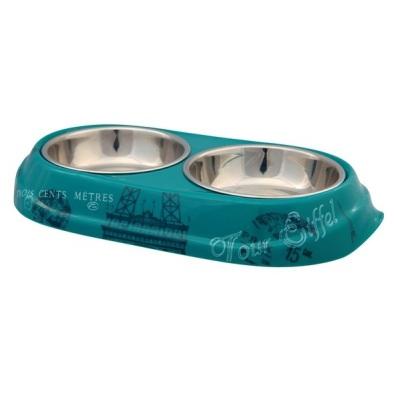Paris Double bowl - Turquoise