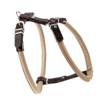 Harness Elk Leather Beige/Brown