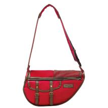 Denis Red Shoulder Bag