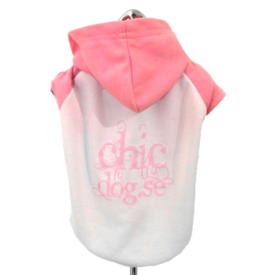 ChicDog.se T-Hood Pink