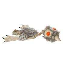 Dog Toy Chicken Linne/Plysch