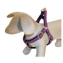SOFT HARNESS PURPLE - ADJUSTABLE