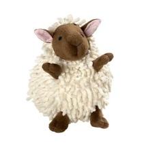 Dog Toy Snugly Sheep White