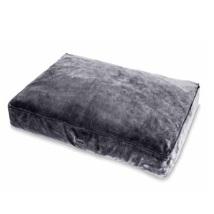 Furry Grey Cushion