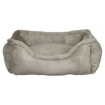 Soft Plush Bed - Taupe