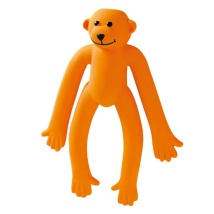 Dog Toy Orange Ape