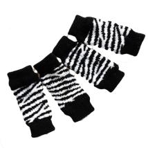 Leg warmers - Zebra