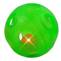 TPR soft rubber Ball 11cm - Green