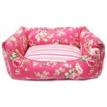 Rose Dreams Bed - Pink/Flowers