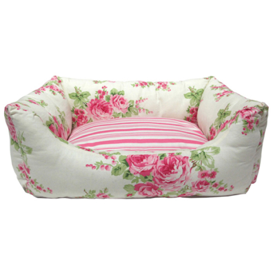 Rose Dreams Bed - Cream/Flowers