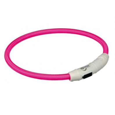 Flash Ring USB Rechargeable - Pink