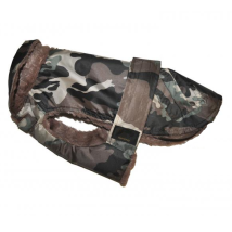 Rain Coat w. Fleece - Camo