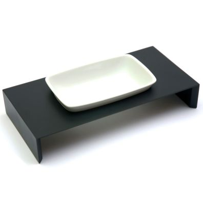 Maebashi Bowl Wooden Table - Black
