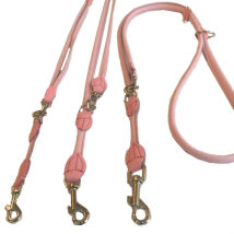 Round Ajustable Leash - Baby Pink