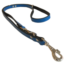 Flat Leash 2 colors - Blue/Black