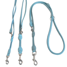 Round Ajustable Leash - Baby Blue