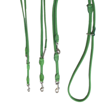 Round Ajustable Leash - Green